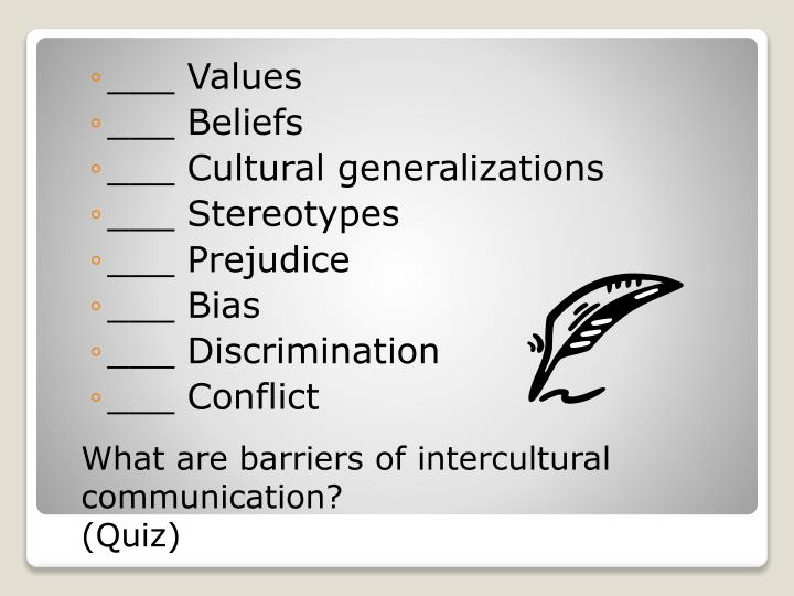 how to avoid intercultural barriers Explore the ideas behind intercultural communication and test your and we want to avoid intercultural communication: definition, model & strategies related.