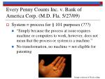 every penny counts inc v bank of america corp m d fla 5 27 091