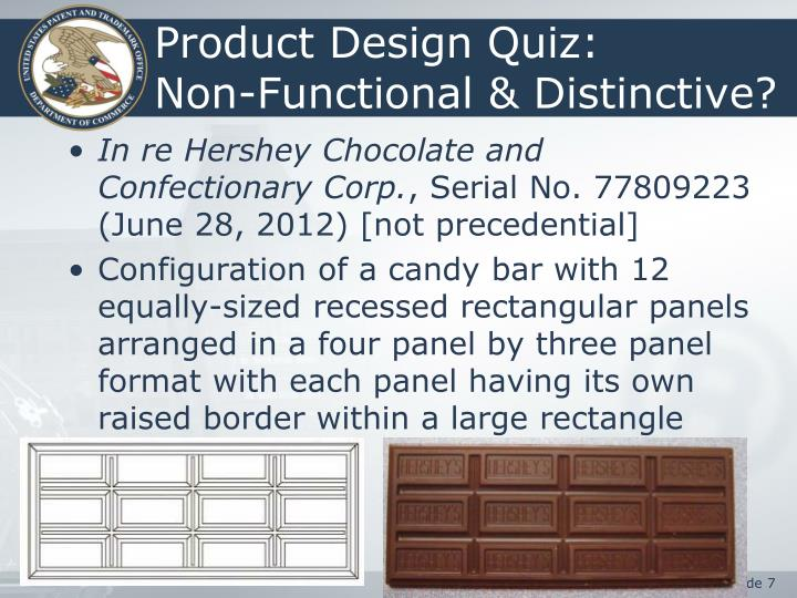 Product Design Quiz: