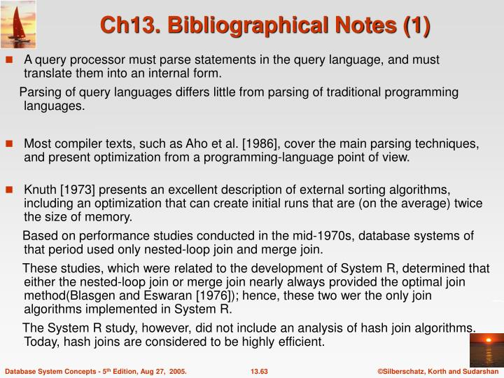 Ch13. Bibliographical Notes (1)