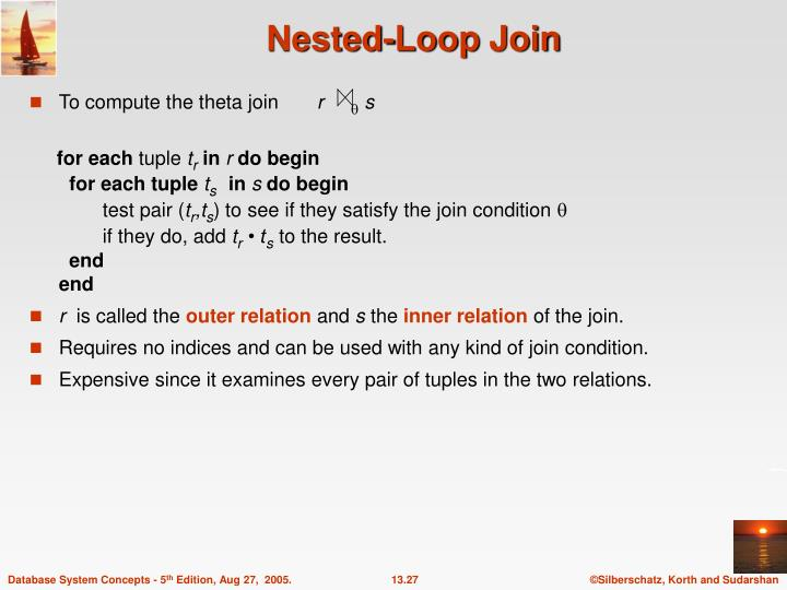 Nested-Loop Join