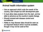 animal health information system