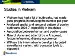 studies in vietnam