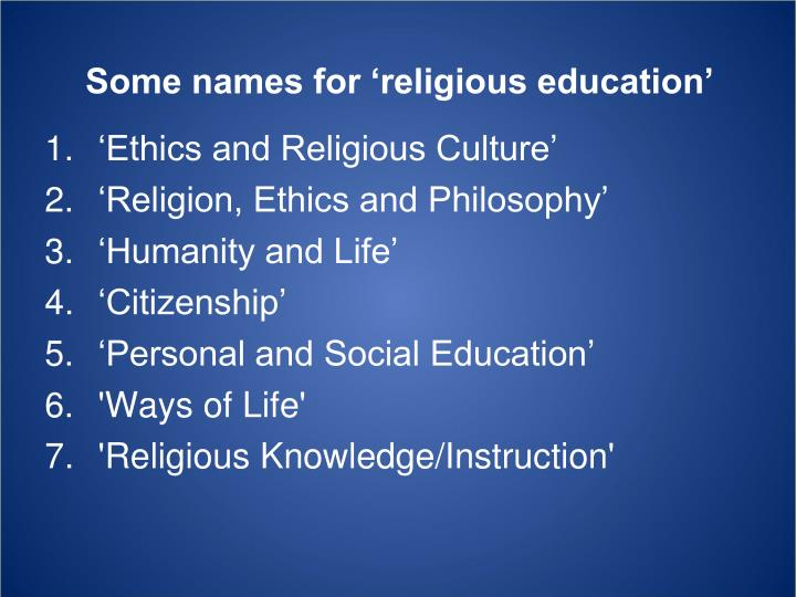 philosophy and religion in education Philosophy and religion have a long history of inspiring, influencing and challenging each other in the process, they have impacted how humans view their roles, drives and ideals in the world in which we live.