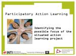 participatory action learning