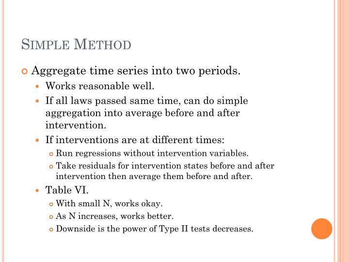 Simple Method