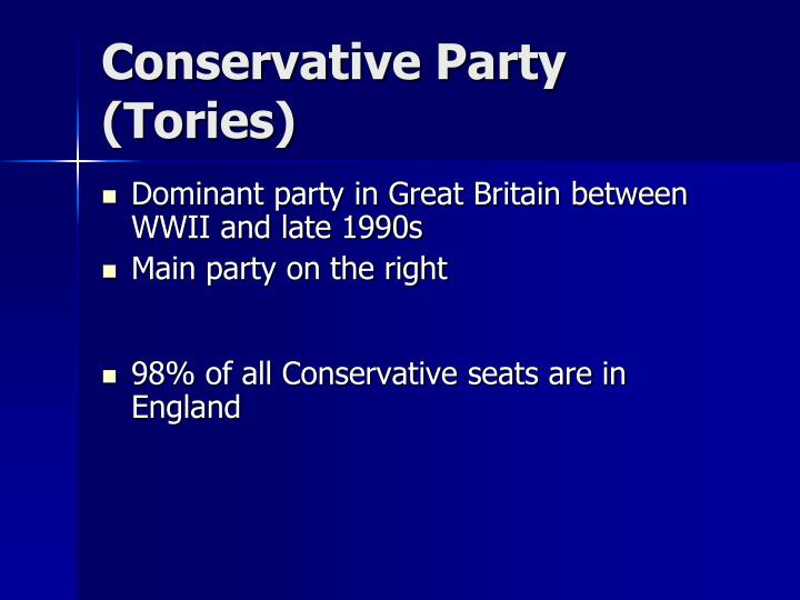 Conservative Party (Tories)
