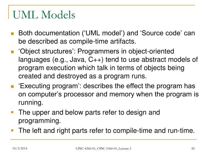 UML Models
