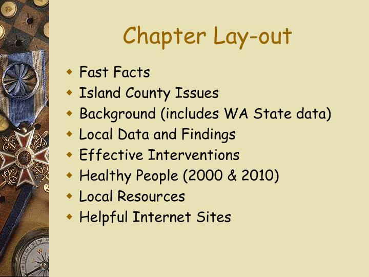 Chapter Lay-out