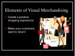 elements of visual merchandising