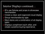 interior displays continued1