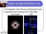 optics optical elements 2