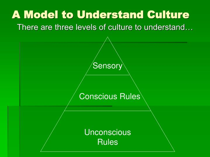 A Model to Understand Culture