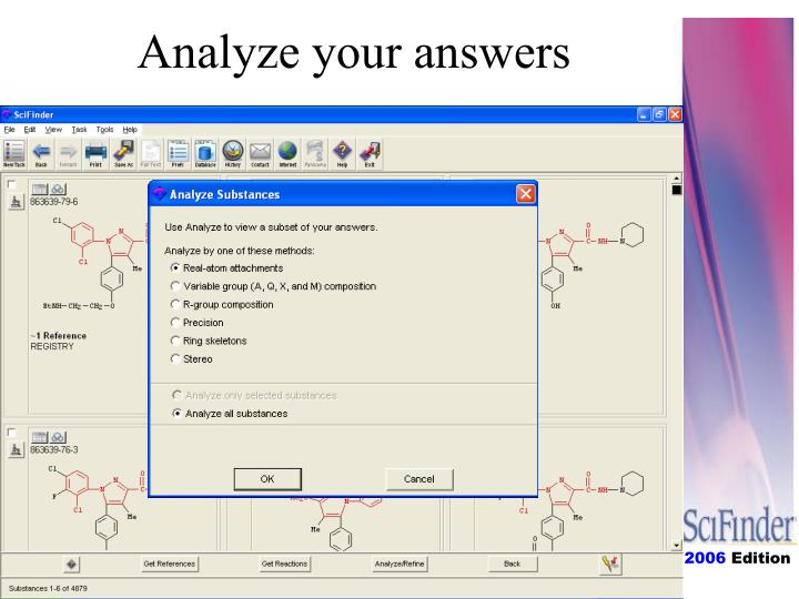 Analyze your answers