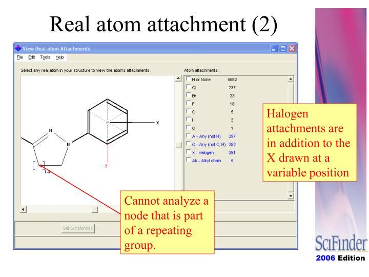 Real atom attachment (2)