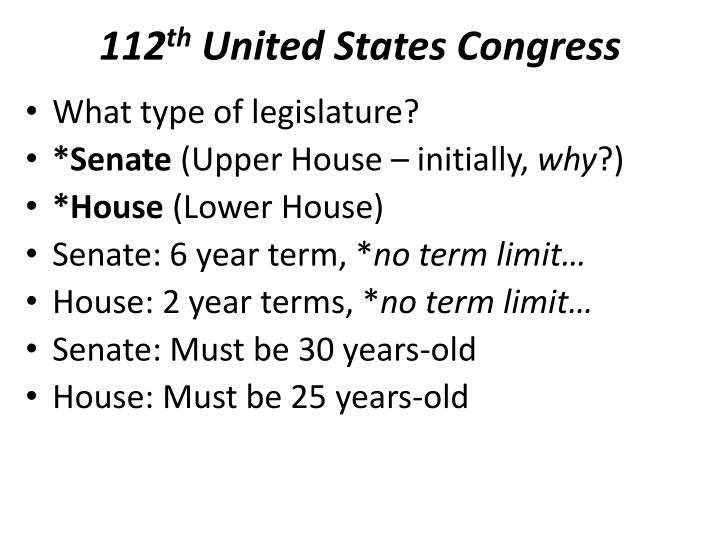 an overview of the congress of the united states In 1987, americans celebrated the bicentennial, or 200th anniversary, of the signing of the constitution of the united states this document, which has.