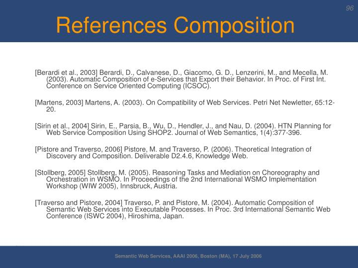 References Composition