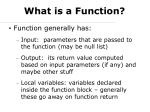 what is a function2