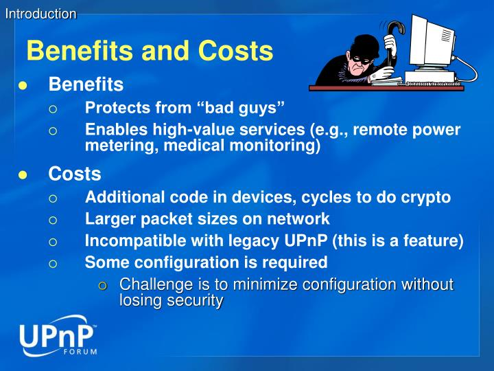 benefits and cost