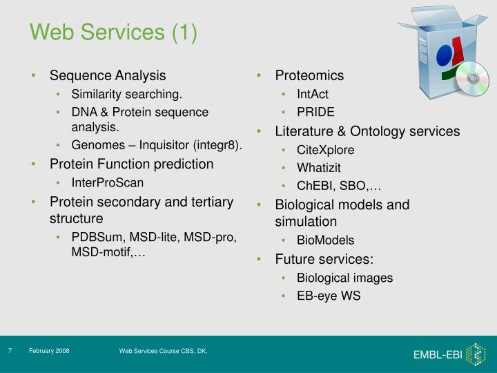 Web Services (1)