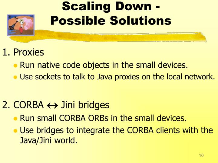 Scaling Down -