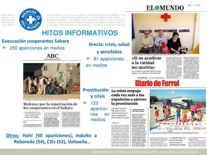 HITOS INFORMATIVOS
