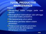 total productive maintenance1