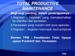 total productive maintenance3