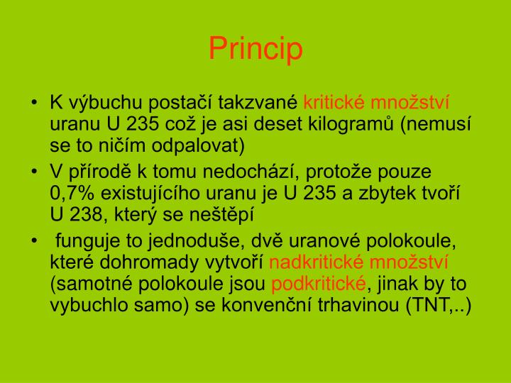 Princip