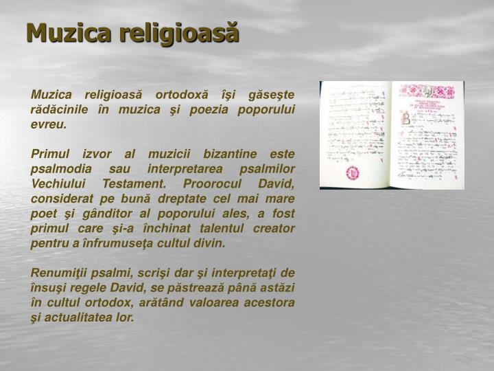 Muzica religioas