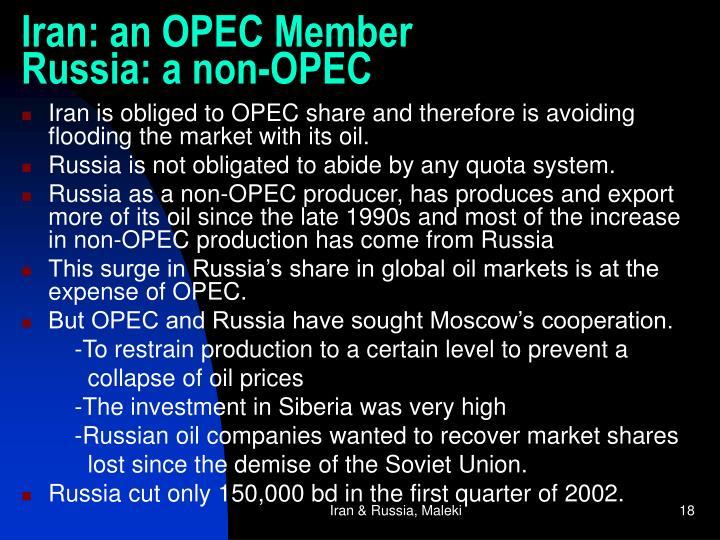 Iran: an OPEC Member