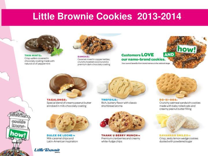 Little Brownie Cookies  2013-2014