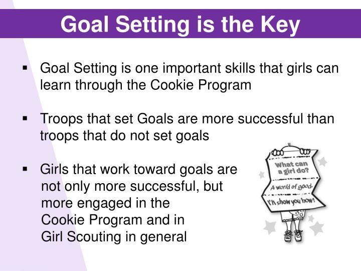 Goal Setting is the Key