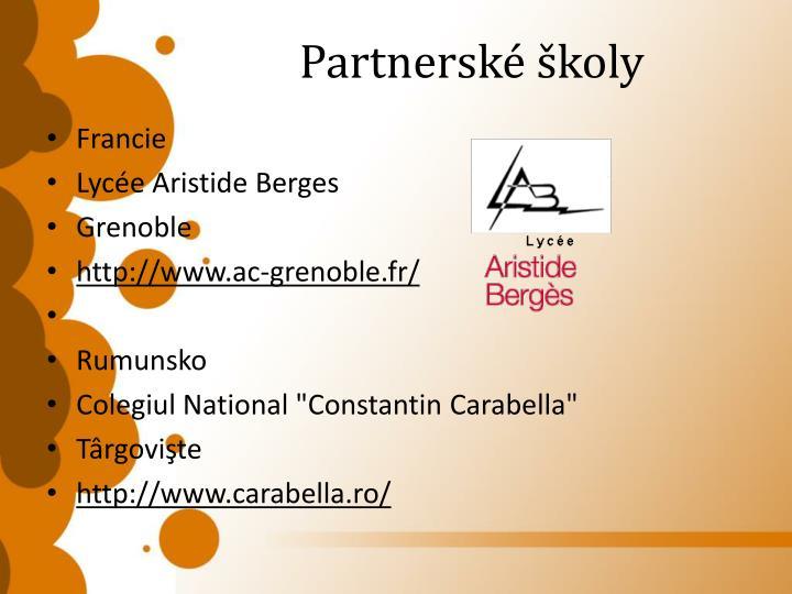 Partnerské školy