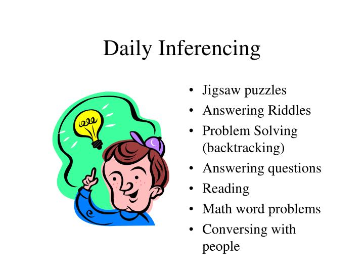 Daily Inferencing