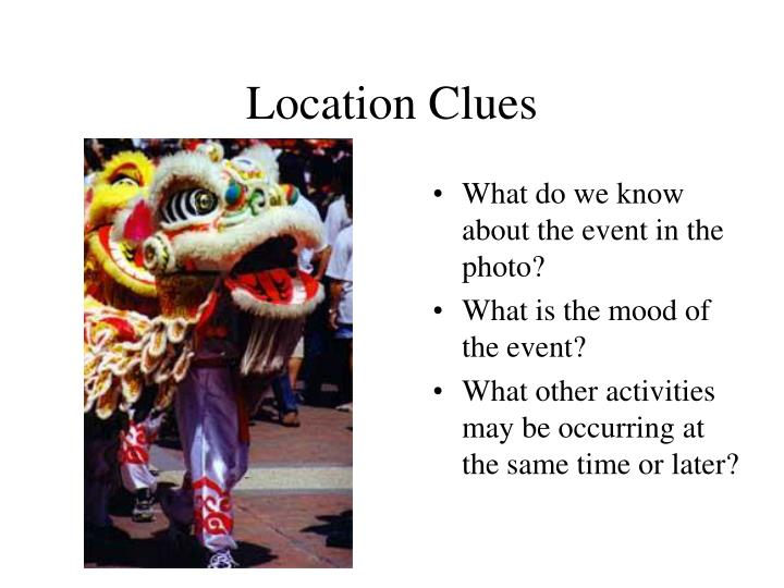 Location Clues