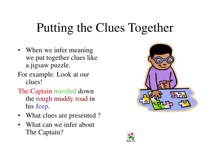 Putting the Clues Together