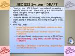 jiec system draft