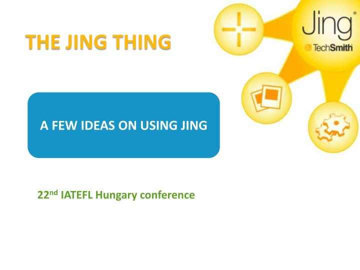 The jing thing