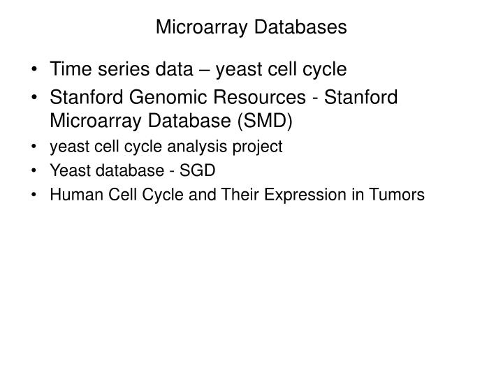 Microarray databases1