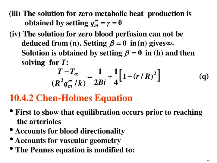 10.4.2 Chen-Holmes Equation