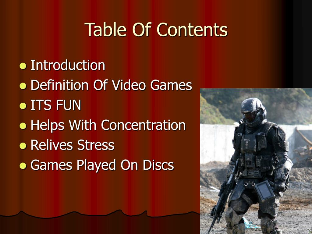 PPT - My Favorite Hobby is Playing Video Games PowerPoint