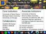 the joint institute for nuclear astrophysics