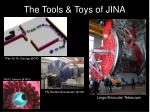 the tools toys of jina