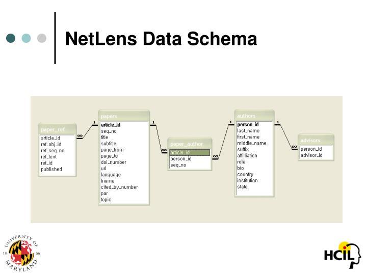 NetLens Data Schema