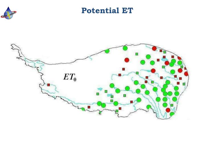 Potential ET