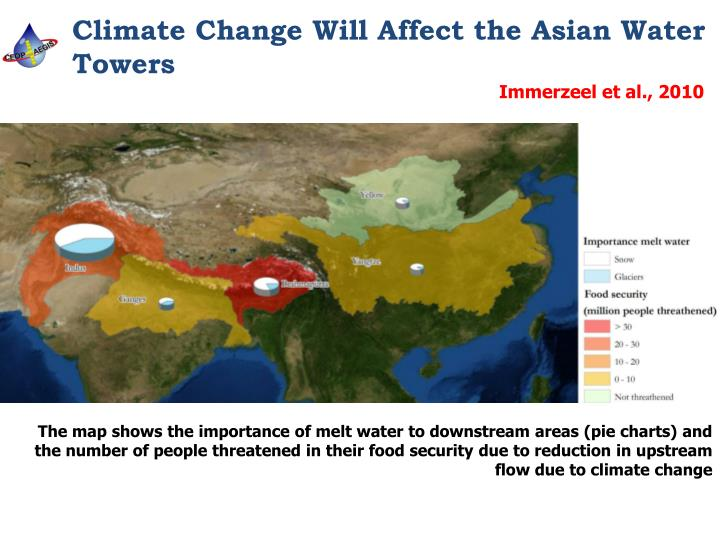 Climate Change Will Affect the Asian Water Towers