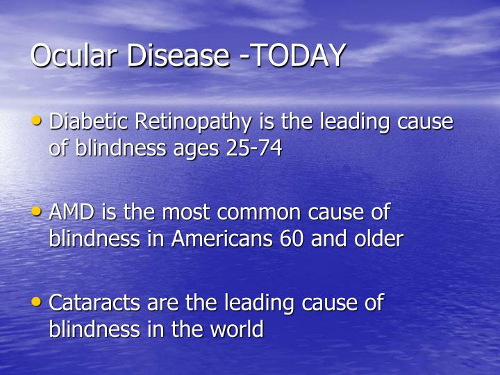 Ocular Disease -TODAY