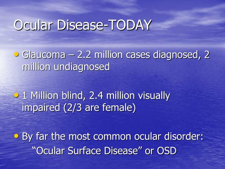 Ocular Disease-TODAY