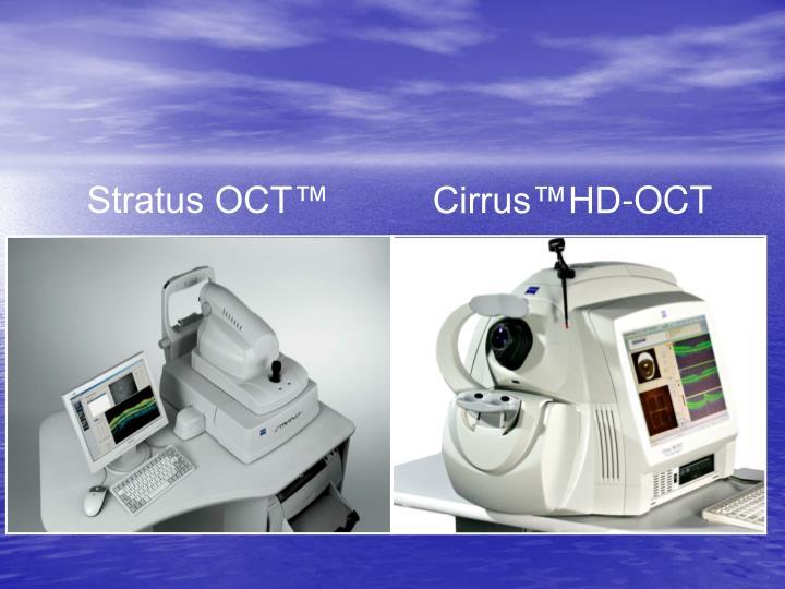 Cirrus™HD-OCT